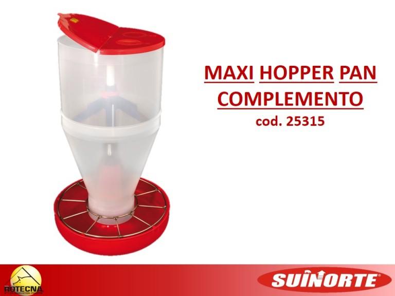 8. Maxi Hopper Pan com Complemento e Tampa